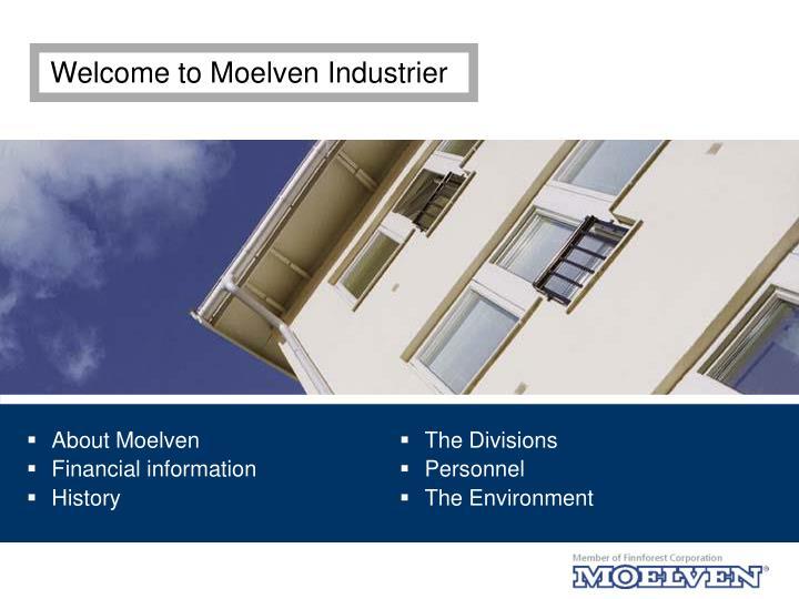 Welcome to Moelven Industrier