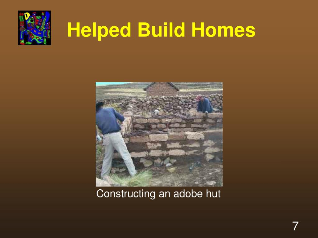 Helped Build Homes