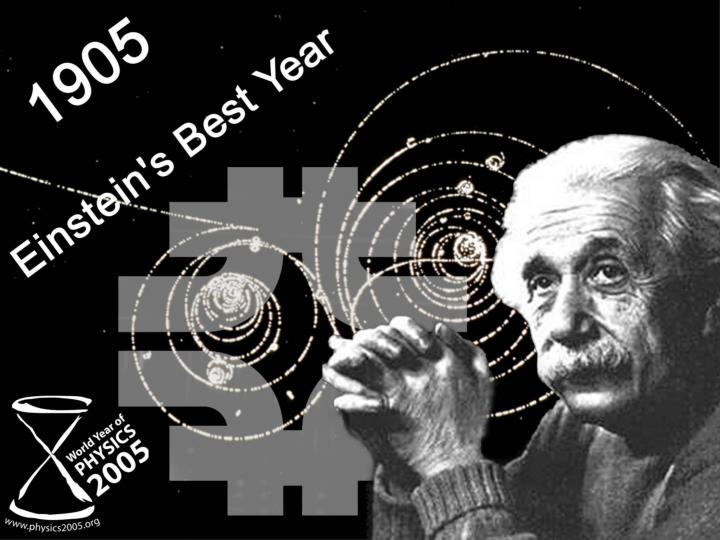 Einstein s three great discoveries