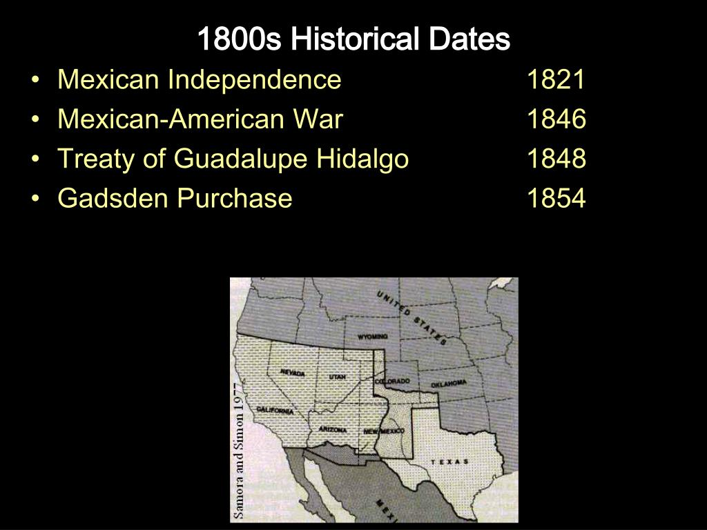 1800s Historical Dates
