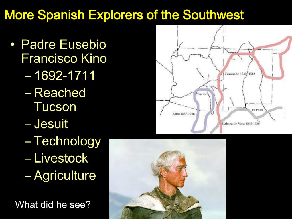 More Spanish Explorers of the Southwest