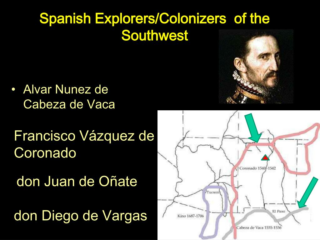 Spanish Explorers/Colonizers  of the Southwest