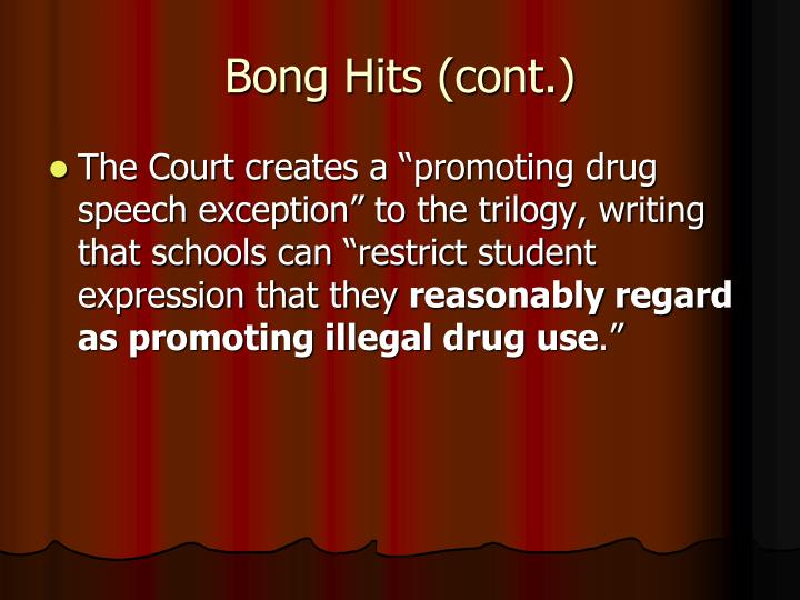 Bong Hits (cont.)