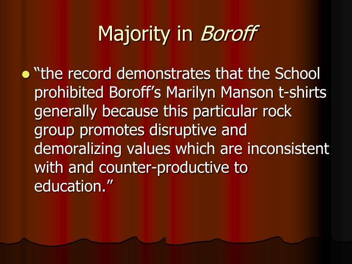 Majority in