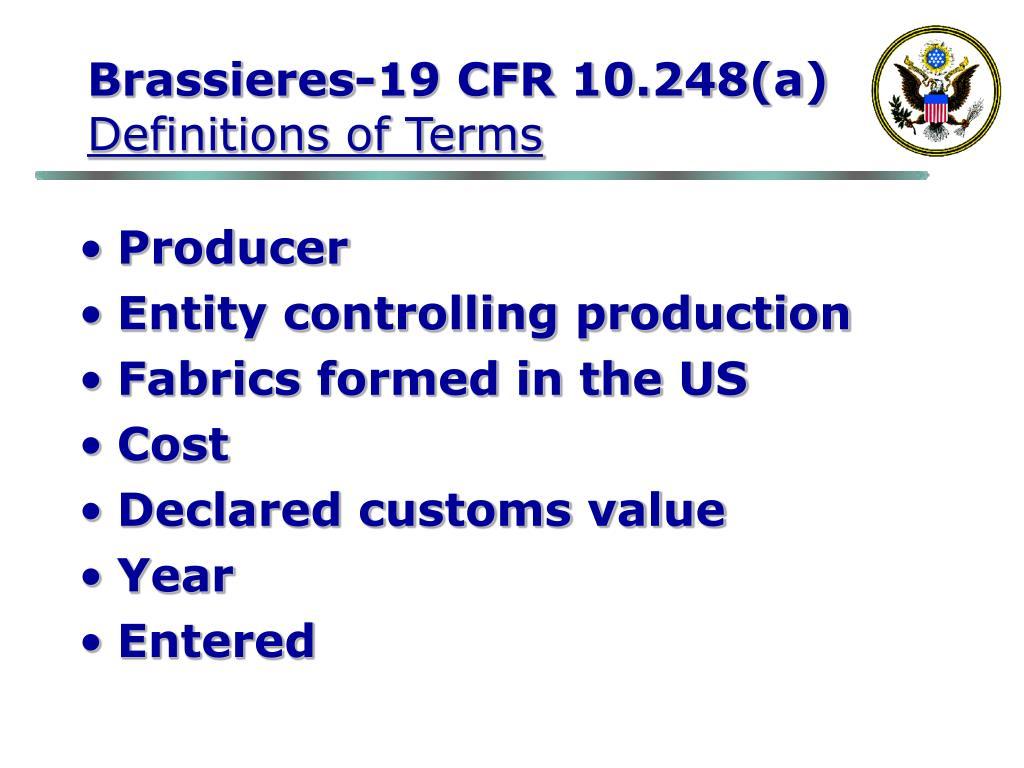 Brassieres-