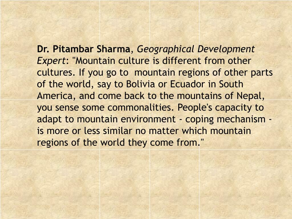 Dr. Pitambar Sharma