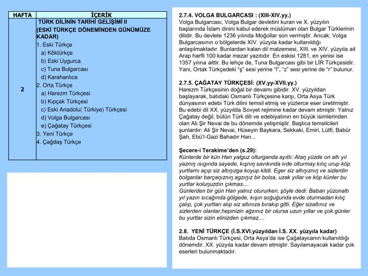 2.7.4. VOLGA BULGARCASI : (XIII-XIV.yy.)
