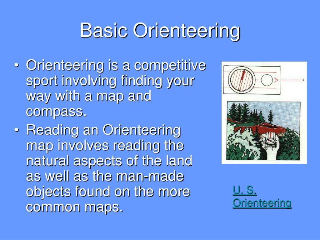 Basic Orienteering