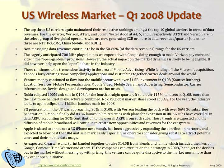 Us wireless market q1 2008 update1