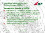 international specification for sprint orienteering maps issom5