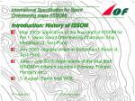 international specification for sprint orienteering maps issom6