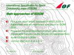 international specification for sprint orienteering maps issom7