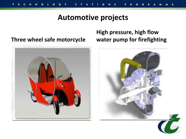 Automotive projects
