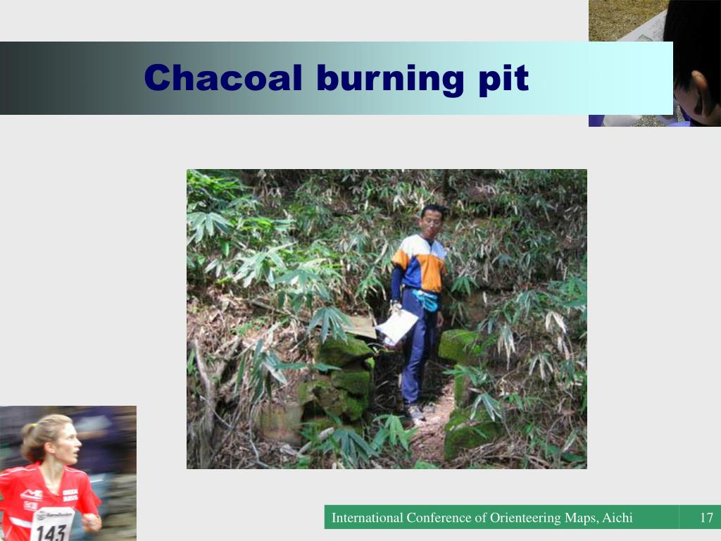 Chacoal burning pit