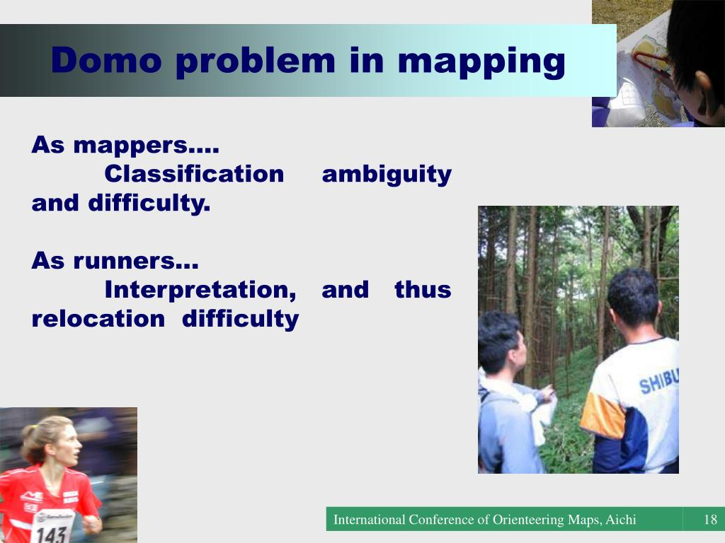 Domo problem in mapping
