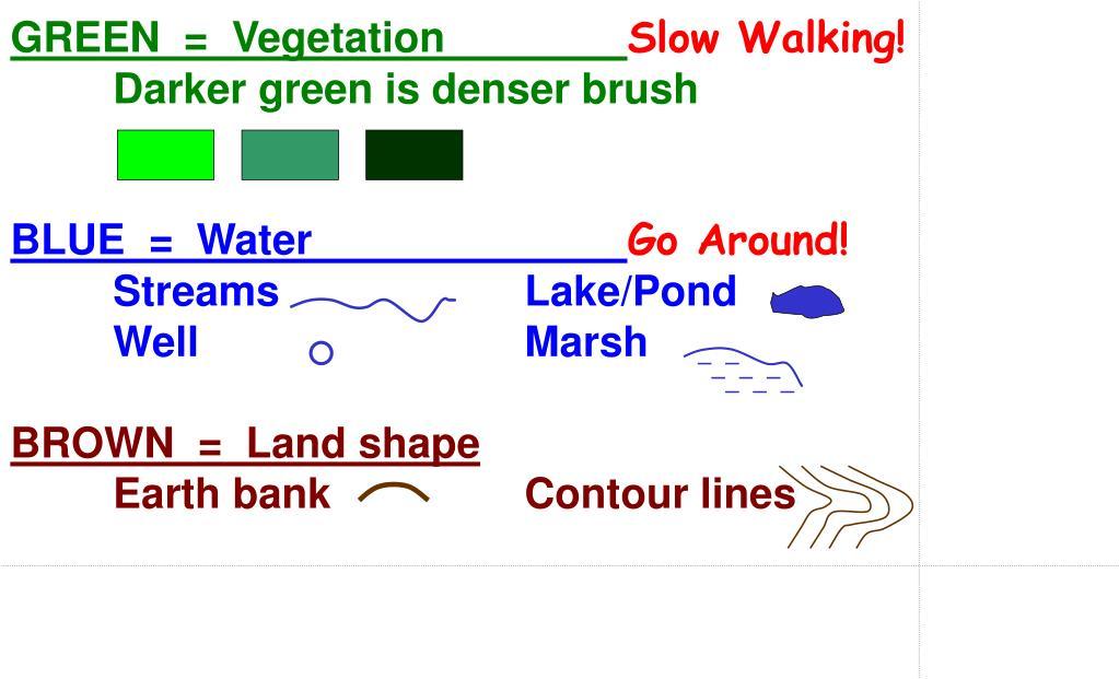 GREEN  =  Vegetation