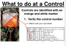 what to do at a control