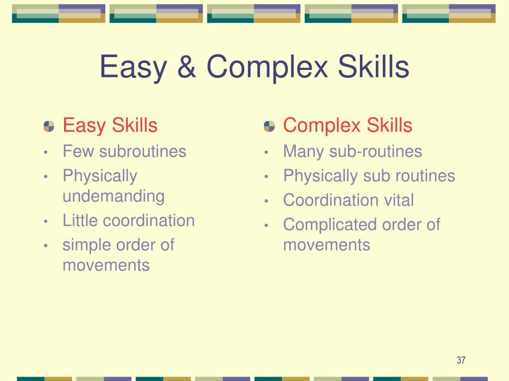 Easy Skills