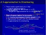 a 3 approximation to orienteering