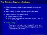 the trick o treaters problem