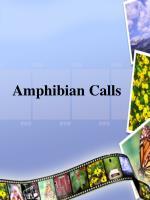 amphibian calls