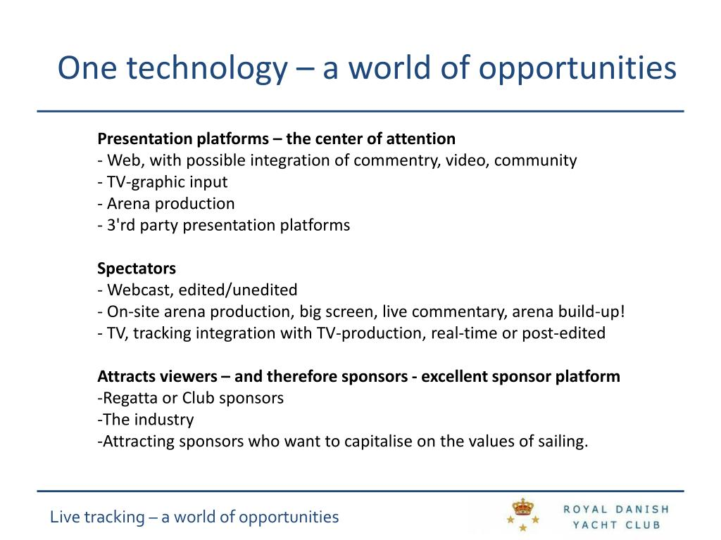 One technology – a world of opportunities