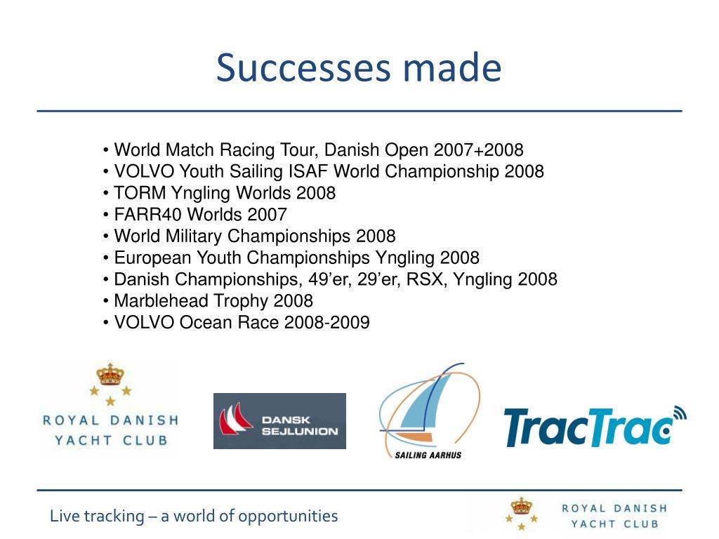 Successes made