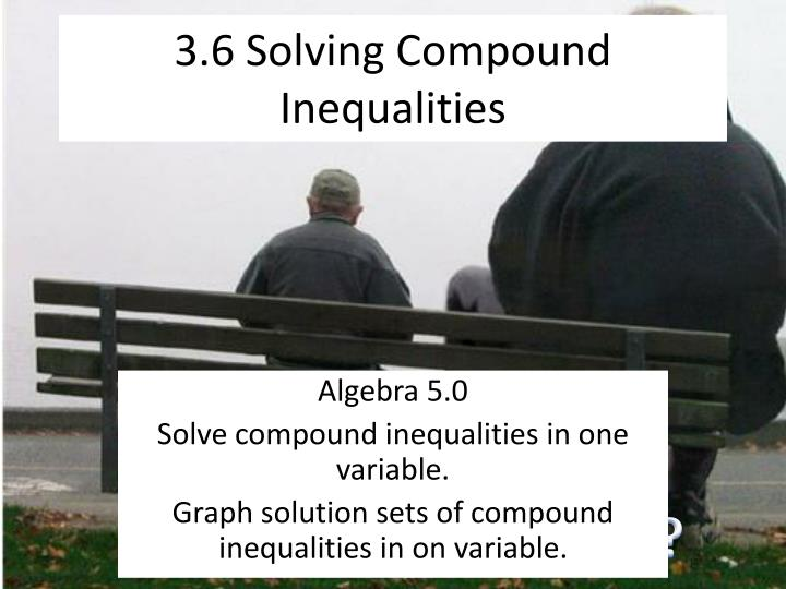 how to solve compound inequalities