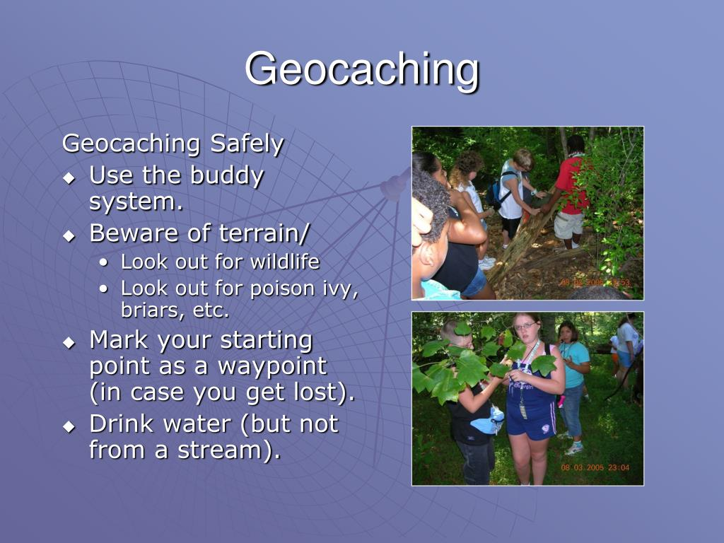 Geocaching Safely