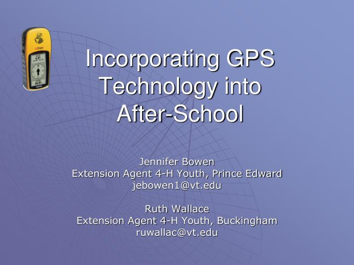 Incorporating gps technology into after school l.jpg