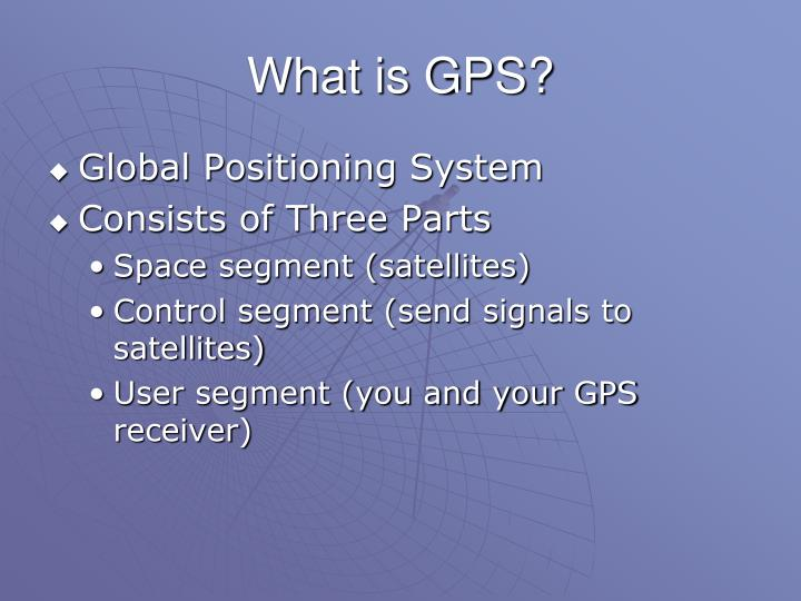 What is gps l.jpg