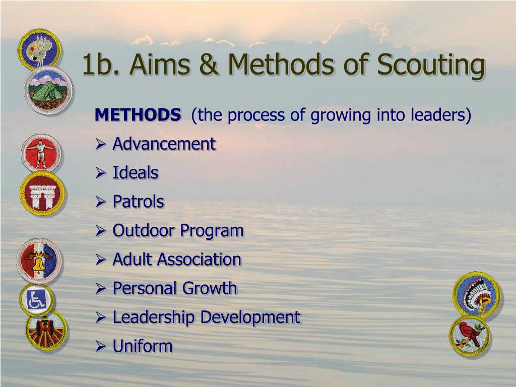 1b. Aims & Methods of Scouting