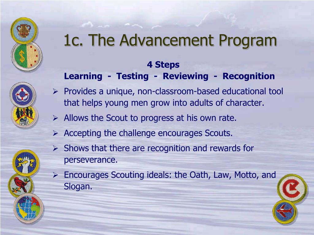 1c. The Advancement Program