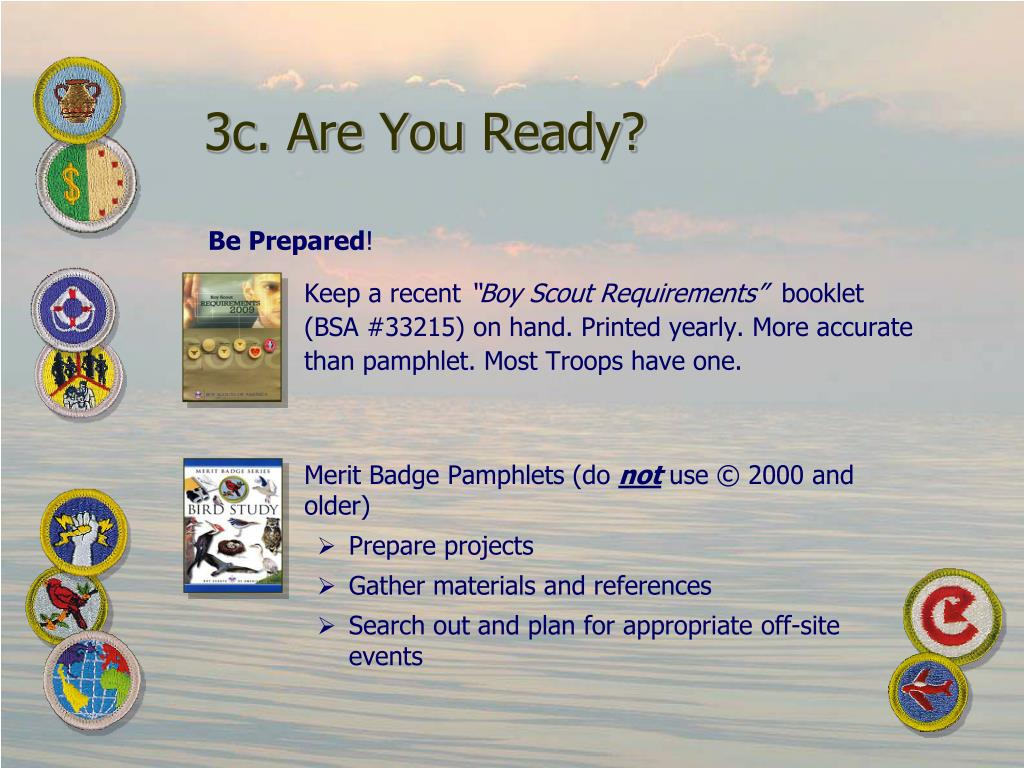 3c. Are You Ready?