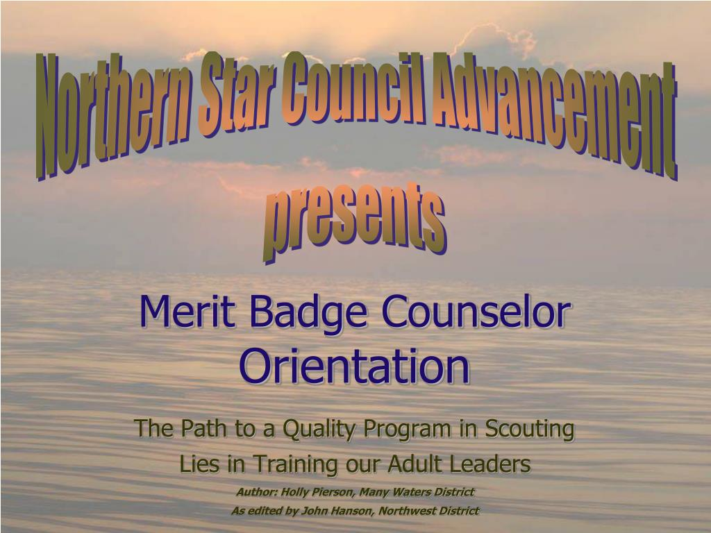 Northern Star Council Advancement