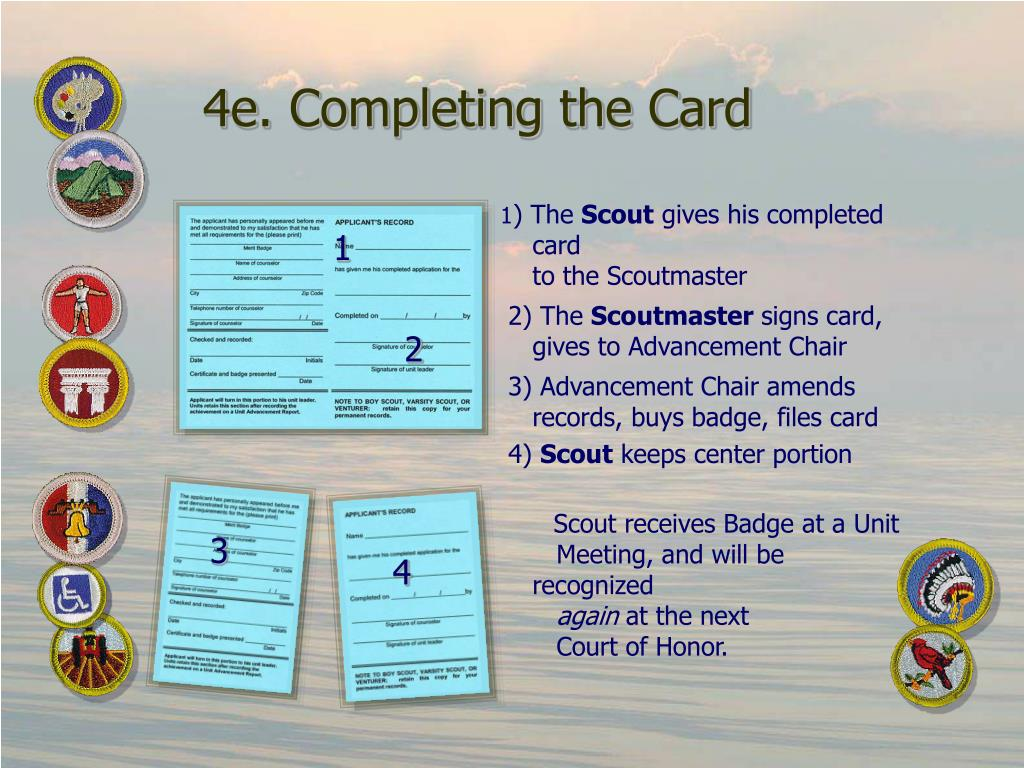 4e. Completing the Card
