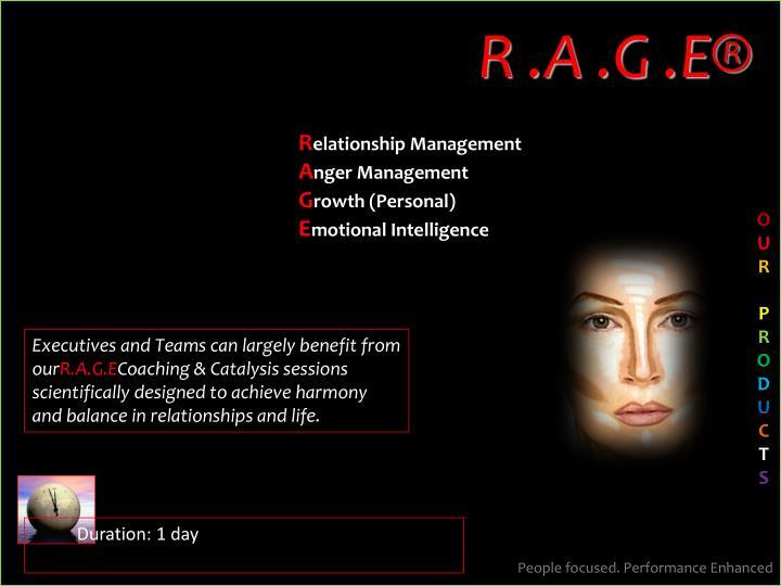 R .A .G .E®