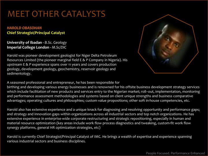 MEET OTHER CATALYSTS