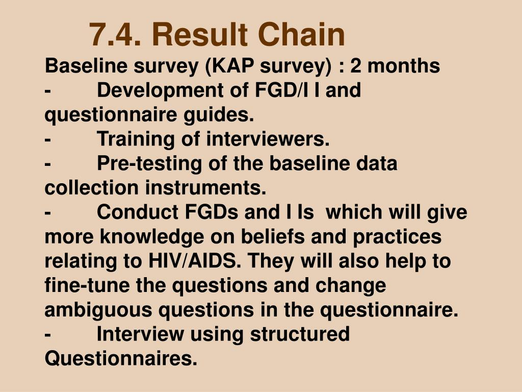7.4. Result Chain