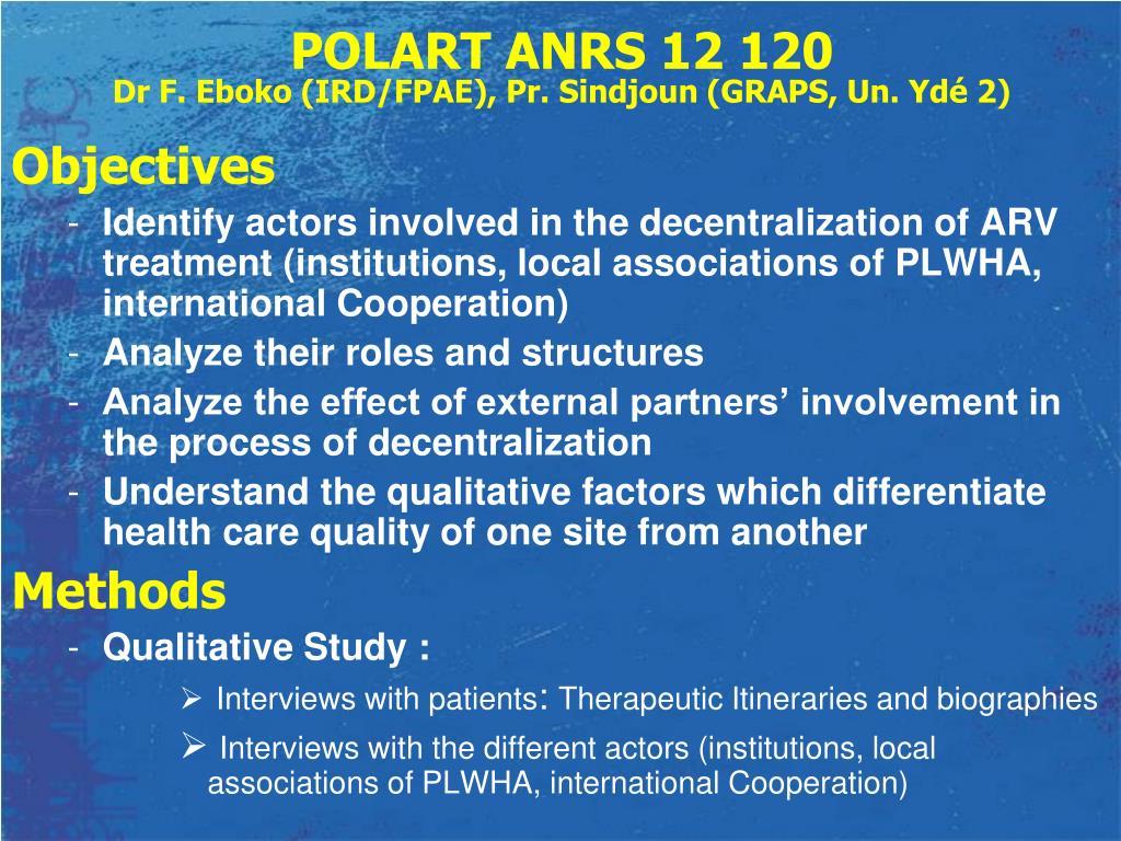 POLART ANRS 12 120