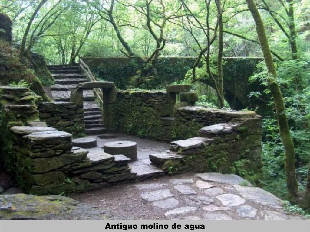 Antiguo molino de agua