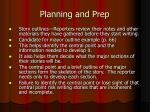 planning and prep1