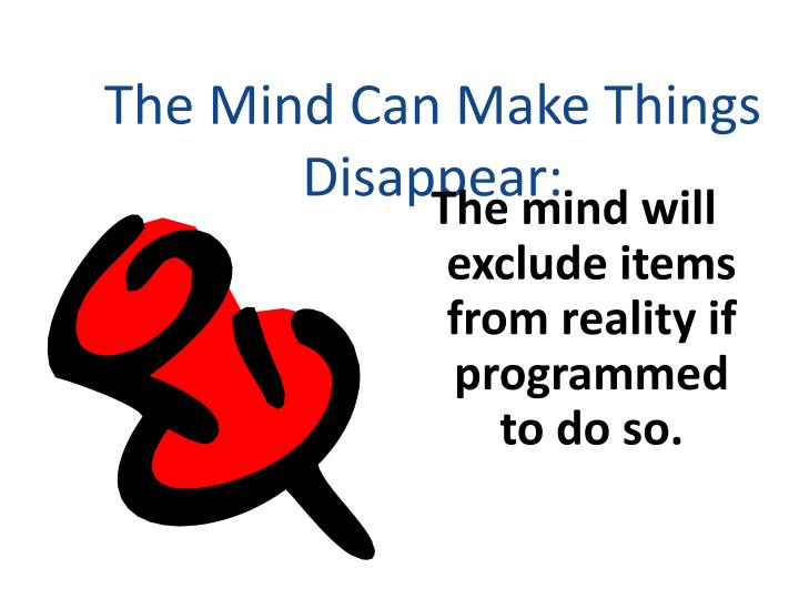 The Mind Can Make Things