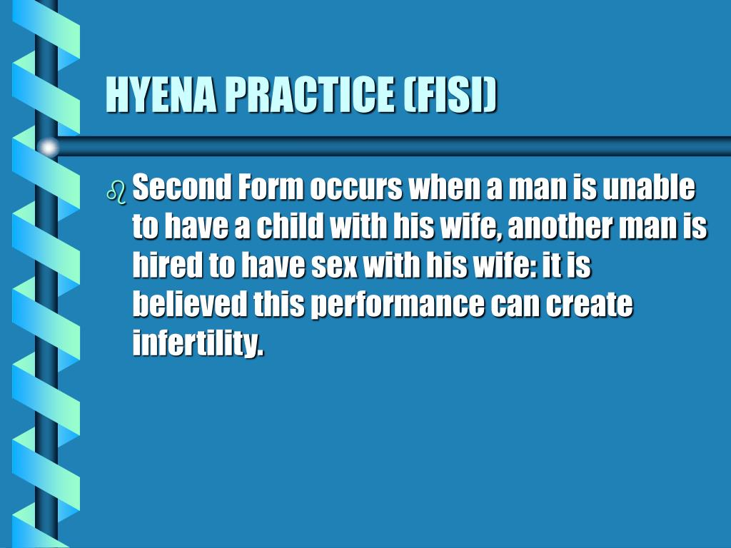 HYENA PRACTICE (FISI)