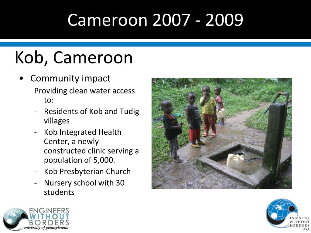 Cameroon 2007 - 2009