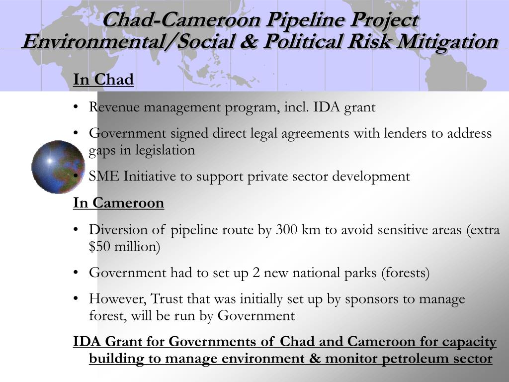 Chad-Cameroon Pipeline Project
