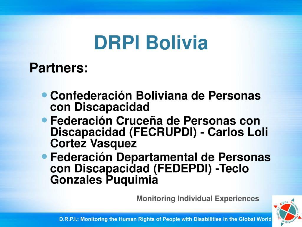 DRPI Bolivia