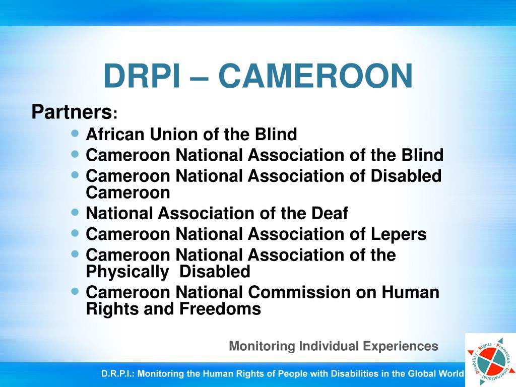 DRPI – CAMEROON
