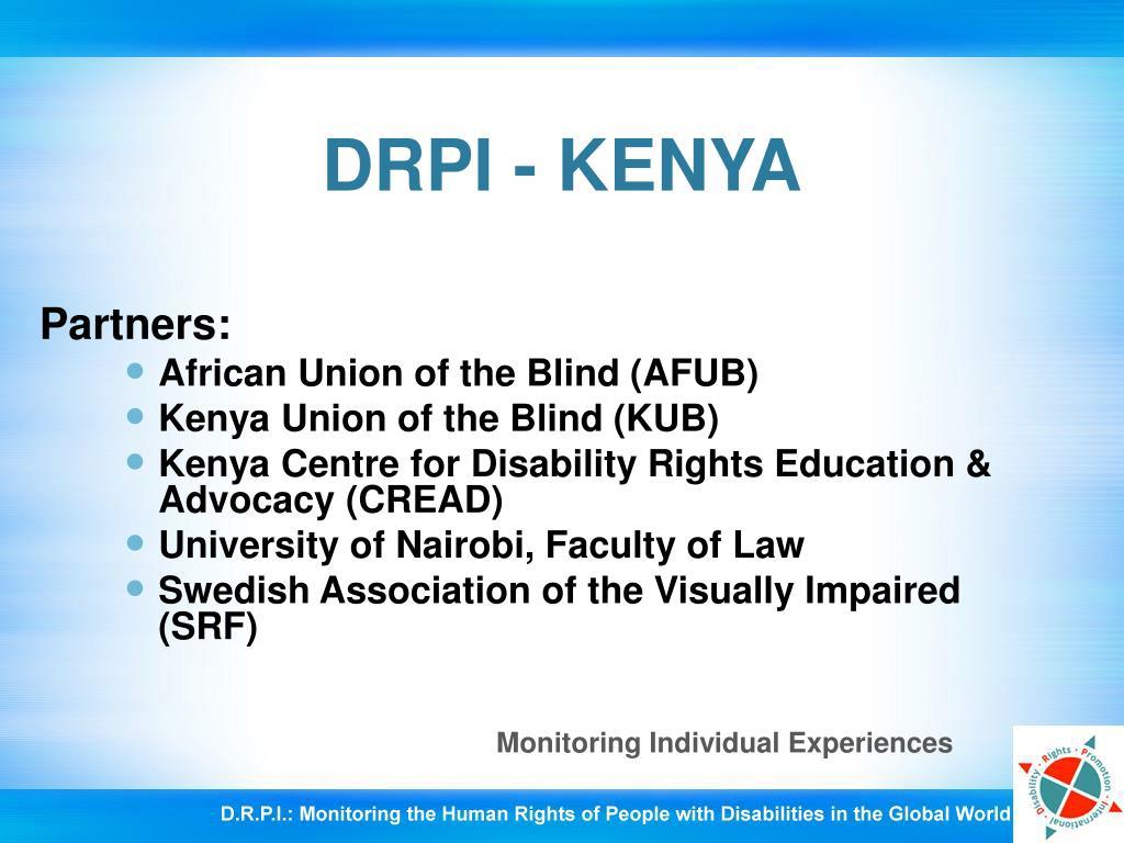 DRPI - KENYA