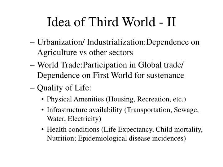 Idea of Third World - II